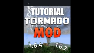 Minecraft - How To Spawn a Tornado using the mod 1.6.4 and 1.6.2