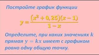 Решение задания 23 из ОГЭ по математике