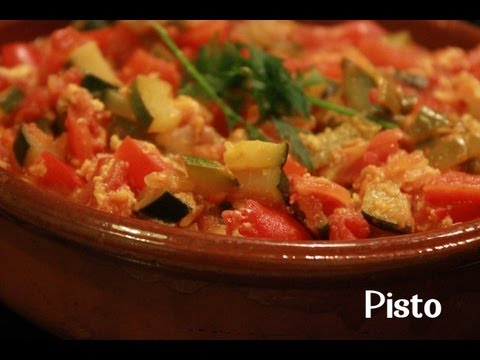 VEGETABLE STEW | PISTO BY SPANISH COOKING
