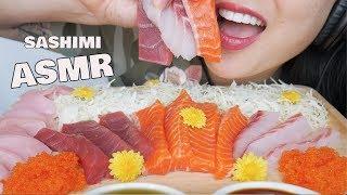 ASMR LAST SASHIMI PLATTER FROM JAPAN (EATING SOUNDS) NO TALKING | SAS-ASMR