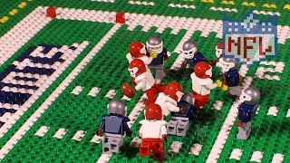 NFL: Kansas City Chiefs @ New England Patriots (Week 1, 2017) | Lego Game Highlights