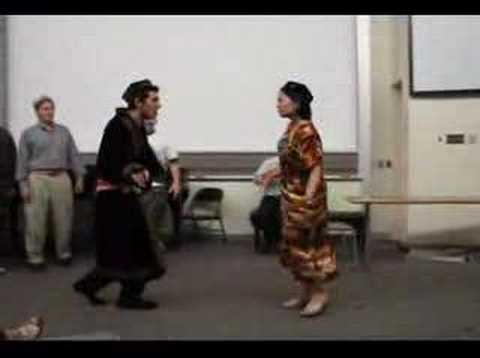 "Uyghur Language Students Perform ""White Rabbits"""