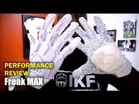 ADIDAS Freak Max Lineman Football Gloves: REVIEW