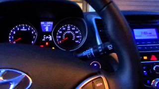 Cold Start 2014 Hyundai Elantra GT Minus 10 Degrees Fahrenheit!