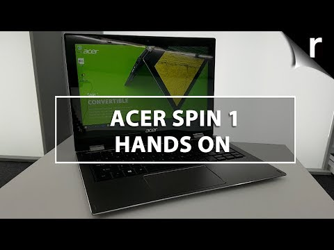 Acer Spin 1 (2017) Hands-on Review