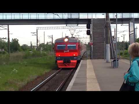 ЖД станция Александровская в сторону Луги