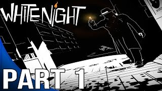 White Night Gameplay Walkthrough Part 1 - Chapter 1 - The Library