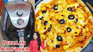 Pizza in Air Fryer  Pizza in Air Fryer Recipe   How to Make Pizza in Air Fryer   Super Shivani