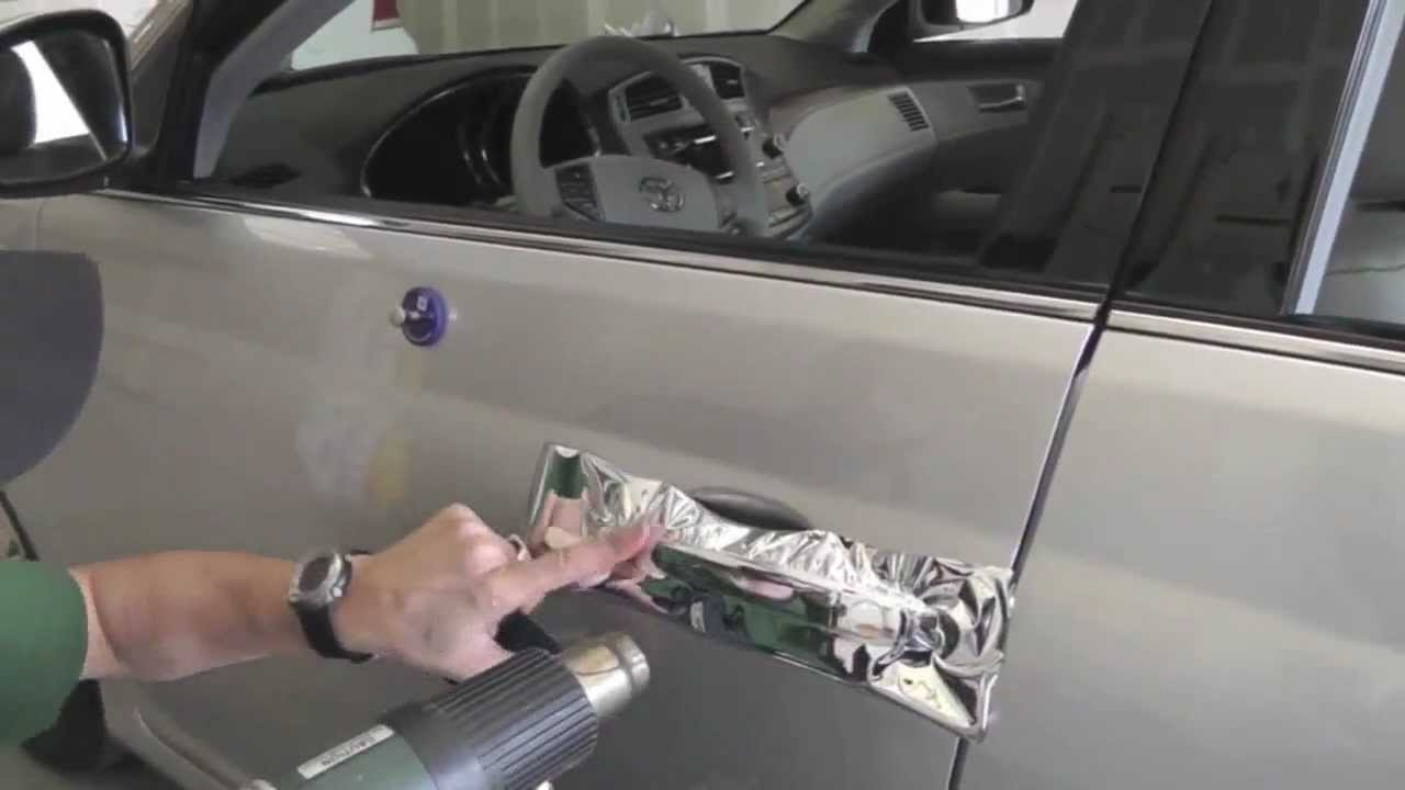 How To Install Avery Dennison Conform Chrome Vehicle