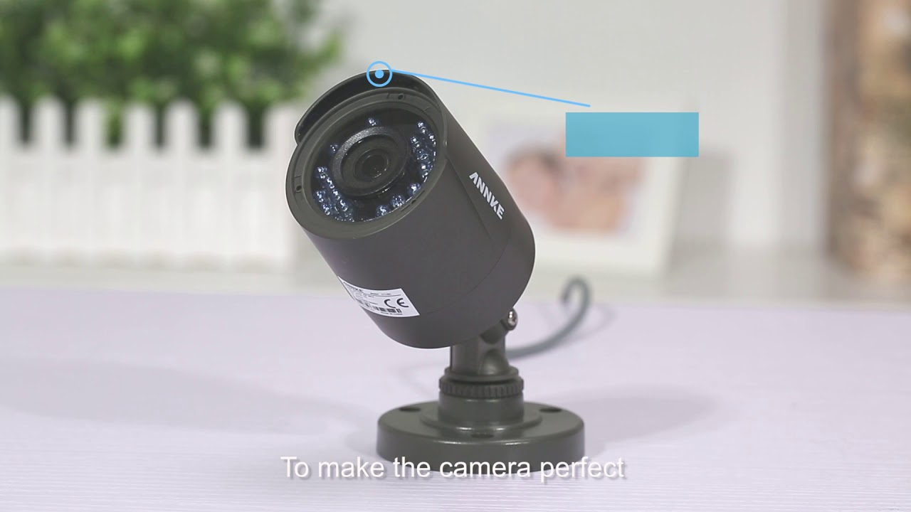 ANNKE High Definition Indoor & Outdoor Security Camera CT1BC
