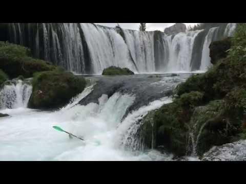 Best EXTREME Zrmanja River Kayaking trailer   Raftrek Adventure Travel