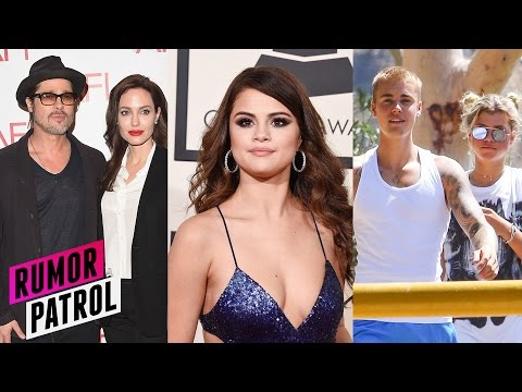 Selena Gomez BROKE UP Brangelina? REAL REASON Justin Bieber Dumps Sofia Richie? (Rumor Patrol )