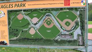 Tour of Prague baseball site in suburb of Krc