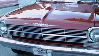 1962 Chevy II 300 Two Door Sedan Red TVil091512