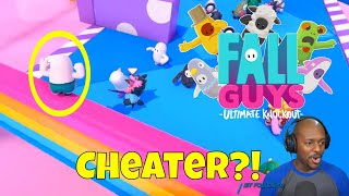 CHEATER?! | Fall Guys: Ultimate Knockout