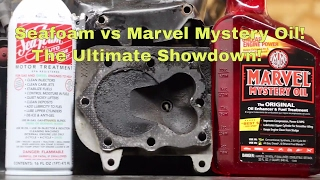 Seafoam vs Marvel Mystery Oil!  The Ultimate Showdown!