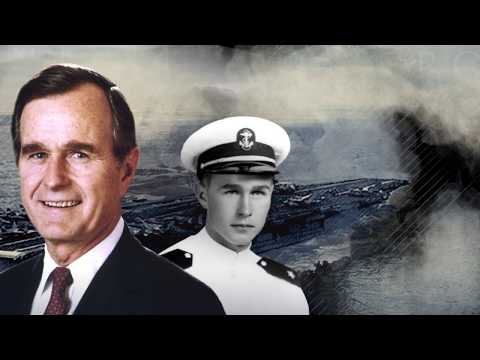 President George H.W. Bushs US Naval Reserve service during World War II
