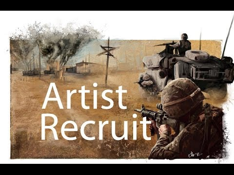 How to be a Marine Boot Camp Artist Recruit