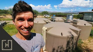 OUR MOST CRAZY STORM YET!! Rainwater Harvesting Update