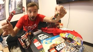 BIGGEST UNBOXING EVER / Fingerboards! Griptape! Legos! More!
