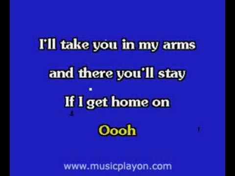 Elvis Presley karaoke   If I Get Home On Christmas Day