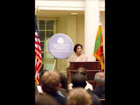 Podcast: Former Sri Lankan President Chandrika Bandarnaika Kumaratunga