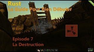 Rust - Le Guide pour bien débuter - Tutoriel Fr : Episode 7 (La Destruction)