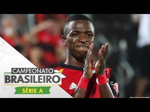 Melhores Momentos - Flamengo 2 x 0 Atlético-GO - Campeonato Brasileiro (19/08/2017)
