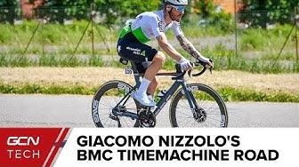 Giacomo Nizzolo's BMC Timemachine Road 01 Disc   Team Dimension Data Pro Bike