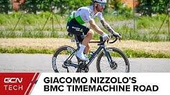 Giacomo Nizzolo's BMC Timemachine Road 01 Disc | Team Dimension Data Pro Bike