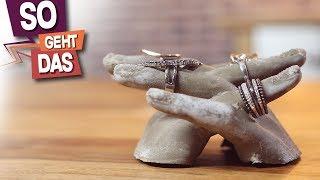 DIY Betonhände - Hände aus Beton selber machen!