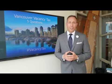 Vancouver Vacancy Tax: 5 Questions