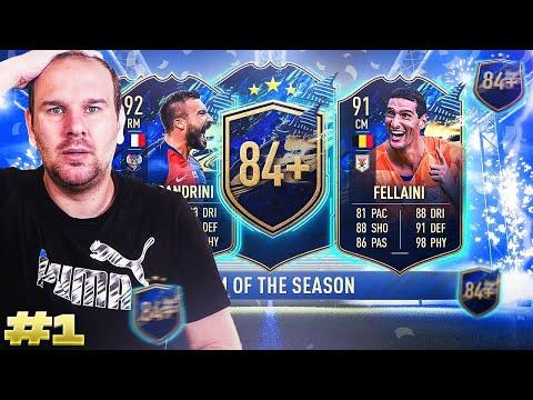 FIFA 21 - MES PACKS 84+ ( Les Tots tombent)  ET LE TRIO CHEAT TOTS CSL ( Alessandrini 😍) !