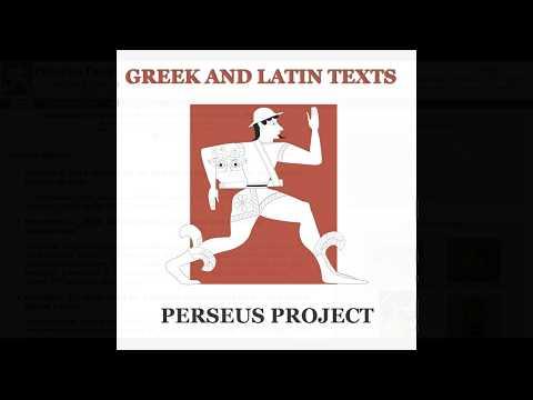 Encontrar textos en latín y griego [Perseus Digital Library]