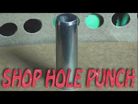 Homemade Hole Punch | Homemade Tool ⚒️