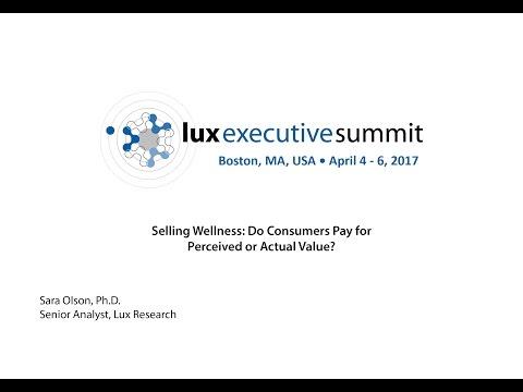 LES 2017 Americas - Sara Olson, Ph.D., Senior Analyst, Lux Research Keynote