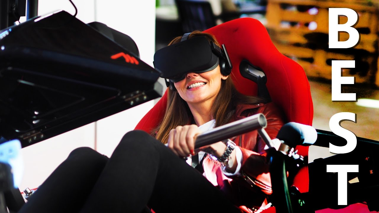 The Best Home VR Full Motion Racing Simulator You Can Buy 2017 !
