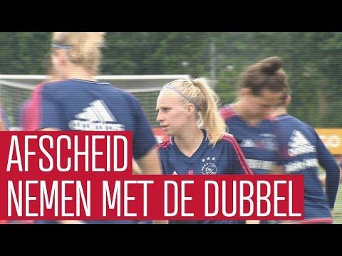 Ajax Vrouwen willen seizoen afsluiten met de dubbel