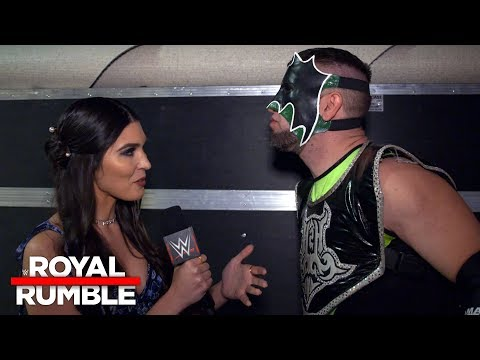 The Hurricane reacts to his short and sweet Royal Rumble Match return: Exclusive, Jan. 28, 2018
