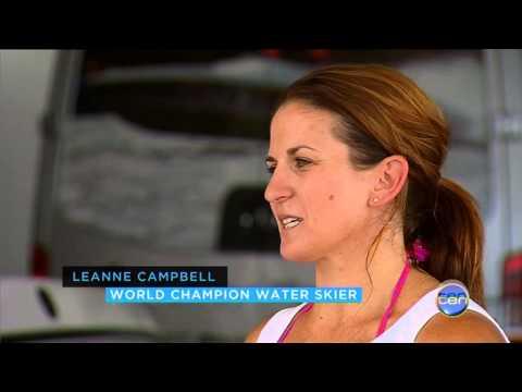 Women's World F2 Ski Racing Champion Leanne Campbell