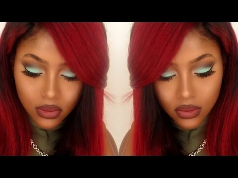 Mint Green Makeup Tutorial | PETITE-SUE DIVINITII