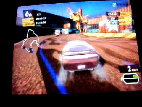 Eu Jogando Need for Speed Nitro [Keppel Harbour - Singapore]