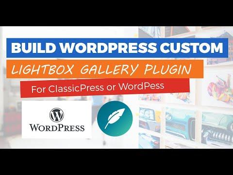 Building a Lightbox JS Gallery Plugin for ClassicPress & WordPress