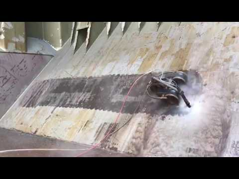 Robotic High Pressure Hydroblasting @ 2300bar on MV WESTERN AIDA/INTERSHIP NAVIGATION