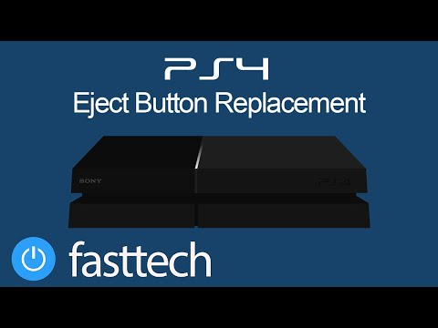 PS4 Eject Button Replacement (CUH-1200/CUH-1215)