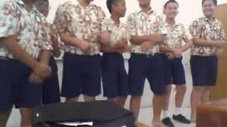 Joget Oplosan Kelas 8.1 Kalam Kudus PEKANBARU
