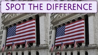 [ Brain games ] ( 3 ) Ep.008 Nations_U.S.A_New York_01 | Spot the difference | photo puzzles