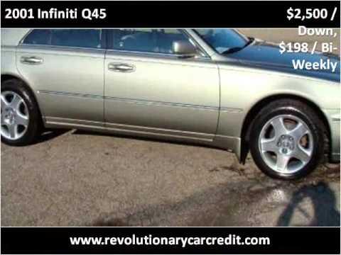 2001 Infiniti Q45 Used Cars Cleveland Akron Ohio Youtube