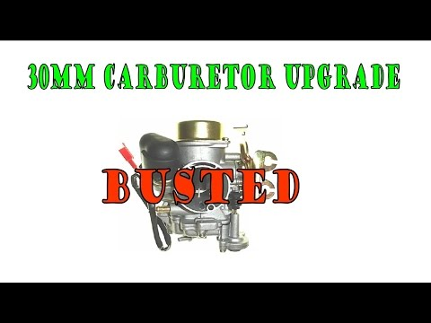 How to Upjet GY6 Carburetor by Daniel Martin
