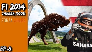 F1 2014 Career Mode | Force India | The Ultimate Driver S3 E8 - Austrian GP